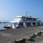 琵琶湖遊覧 竹生島に行ってみた