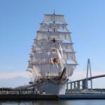 石川・富山を巡る 4 海王丸の総帆展帆を見る