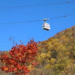 秋の一日・絶景紅葉「新穂高ロープウェー」